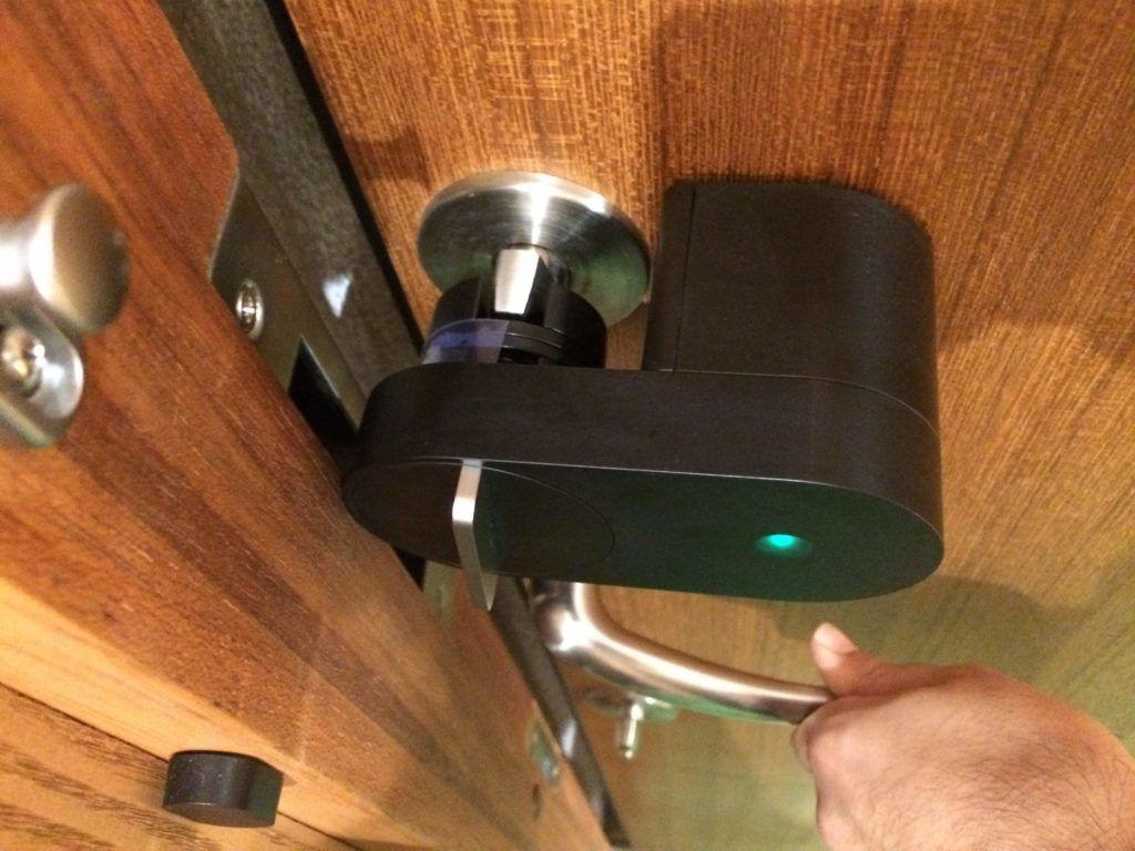 朗報 ガデリウスドアに取付可能なスマートロック Qrio Lock が良い