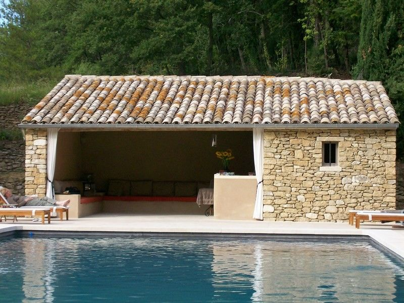 Local Technique Pool House  Piscine Bton Vaucluse  InterPiscine