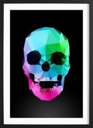 gerahmte poster online kaufen juniqe skulls pinterest. Black Bedroom Furniture Sets. Home Design Ideas