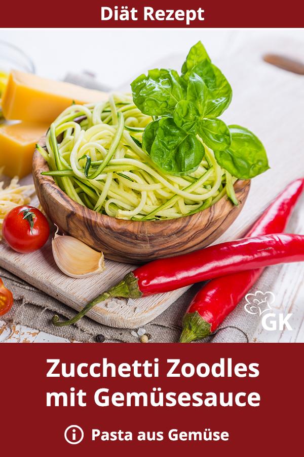 Zucchetti Spaghetti-Zoodles | Rezept | Rezepte, Zoodles
