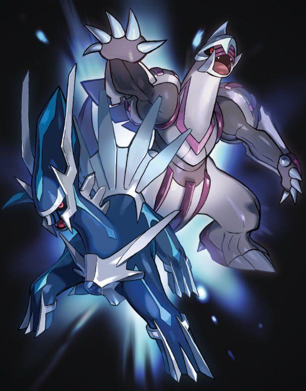 Dialga And Palkia Wallpaper Pokemon Poster All Legendary Pokemon Cool Pokemon Wallpapers