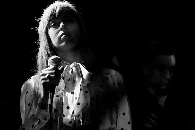 One of my favorite photographs ever, Ruth Radelet of Chromatics by Redheadwalking, via Flickr