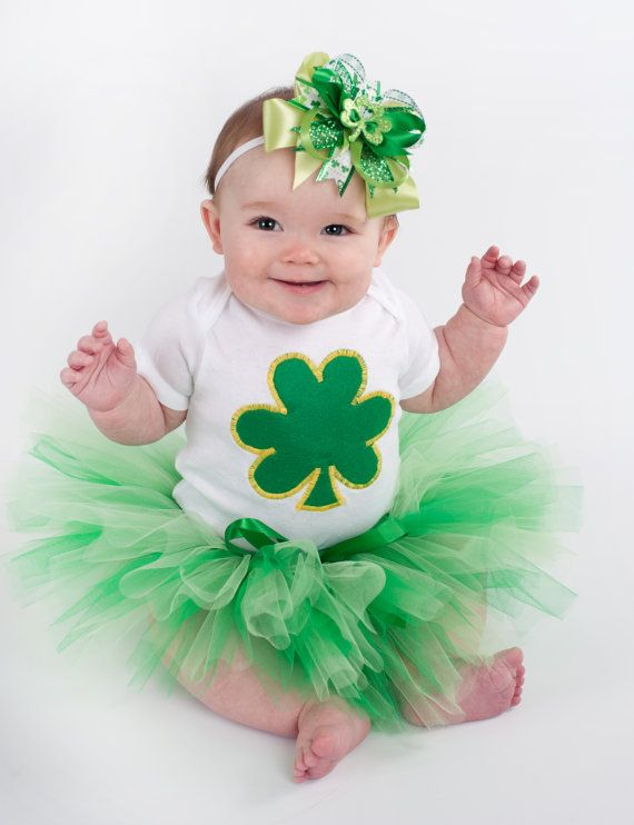 Saint Patrick/'s Day Dressed Up One Piece NB-24 Camouflage My Baby/'s First St
