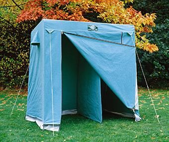 Canvas Double Toilet Tent | Scout Shops - 100% profits back into UK Scouting : canvas scout tent - memphite.com