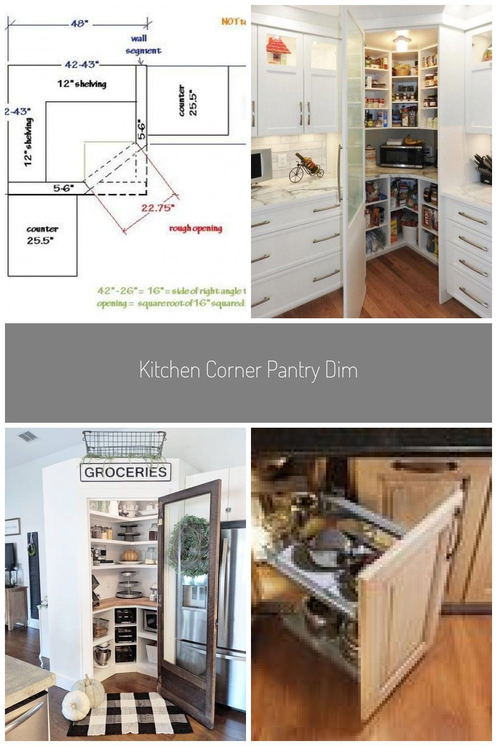 Kitchen Corner Pantry Dimensions Cabinets 49 Best Ideas26 Facts Fiction And Cor Cabinets Cor In 2020 Corner Pantry Corner Pantry Cabinet Corner Kitchen Pantry