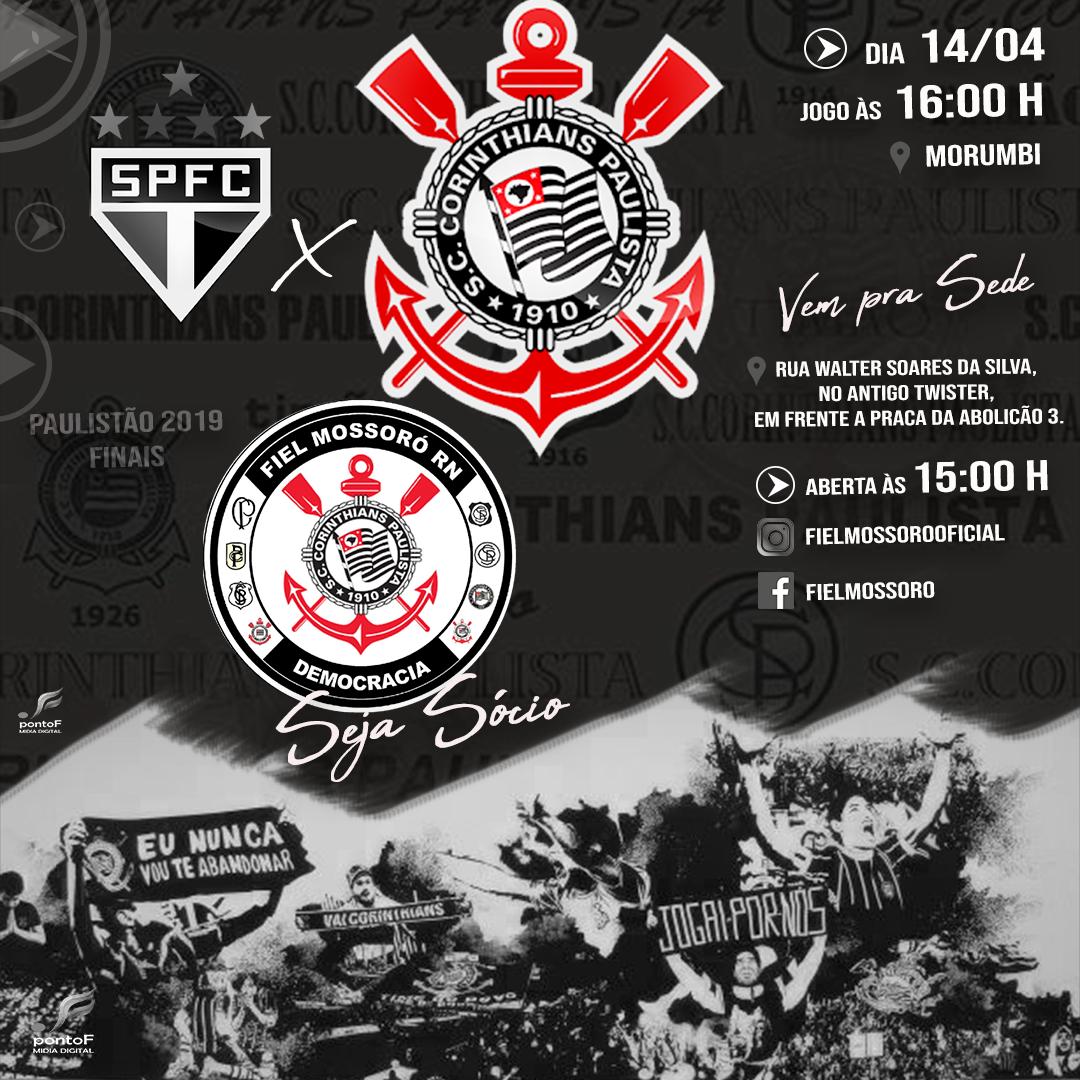 Hoje Tem Corinthians Em Mais Uma Final Vai Corinthians Fielmossorooficial E Parceira Da Pontof Midia Final Paulista Hoje Tem Corinthians Midia Digital