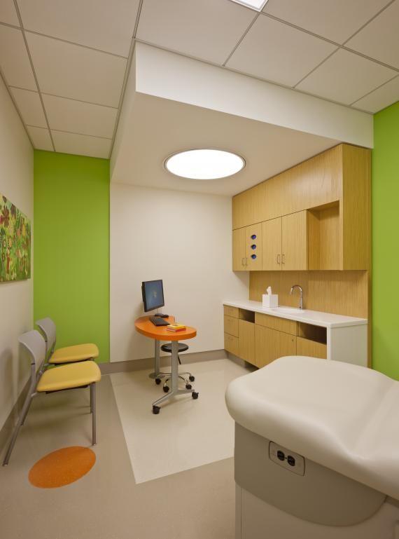 Hospital Room Interior Design: Nemours Children's Hospital. Jonathan Hillyer/HillyerPhoto