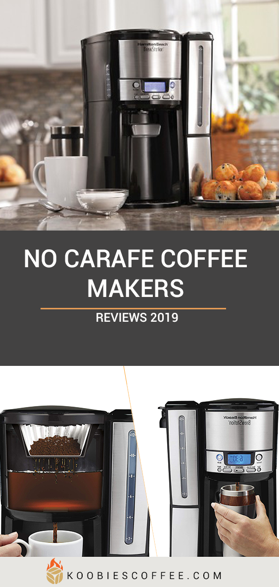 Best Drip Coffee Makers Without a Carafe Coffee maker