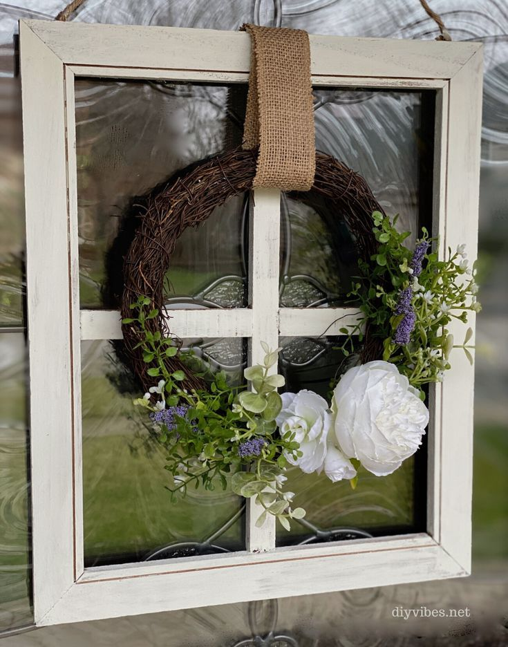 Photo of Easy Spring Grapevine Wreath