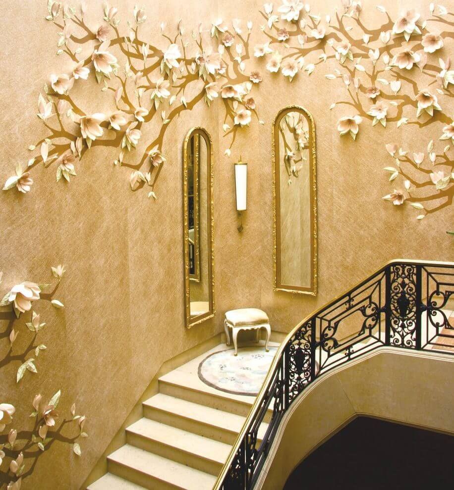 Staircase #Wall #decor #ideas | Creative Wall Design Ideas ...