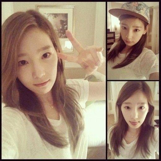 Girls Generation Taeyeon Reveals Her No Makeup Face Beautiful Taeyeon Girls Generation Taeyeon Girls Generation
