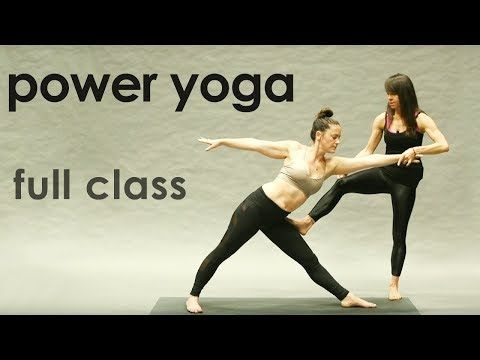 new power yoga flow a 40 minute power yoga class that is