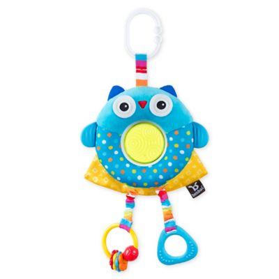 Benbat Dazzle Friends Owl Stroller Toy Blue Baby Toys