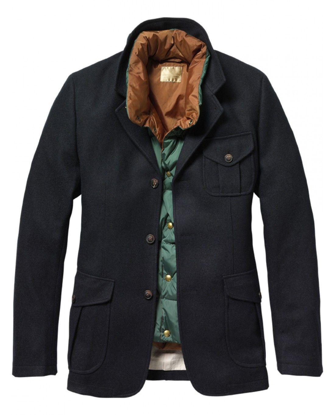 Hunting blazer and inner body warmer - Inbetweens - Scotch & Soda Online Shop