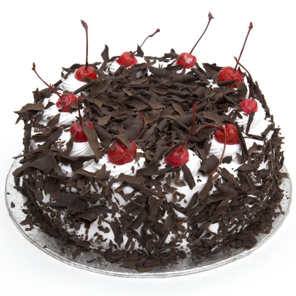 Half Kg Exotic Black Forest Cake Order Birthday Online