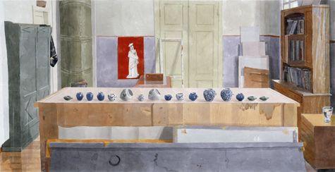 M.Hanhijoki Etsi kokemuksista elämän viisautta akvarelli 2003