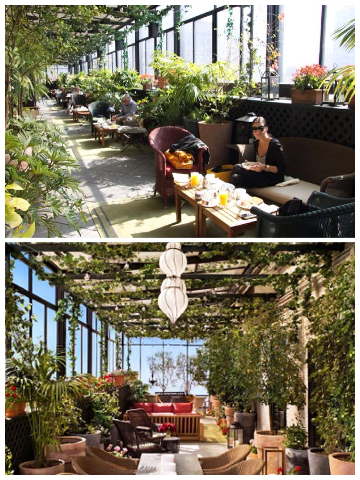 Gramercy Park Hotel Terrace Bar Restaurant Gramercy Park