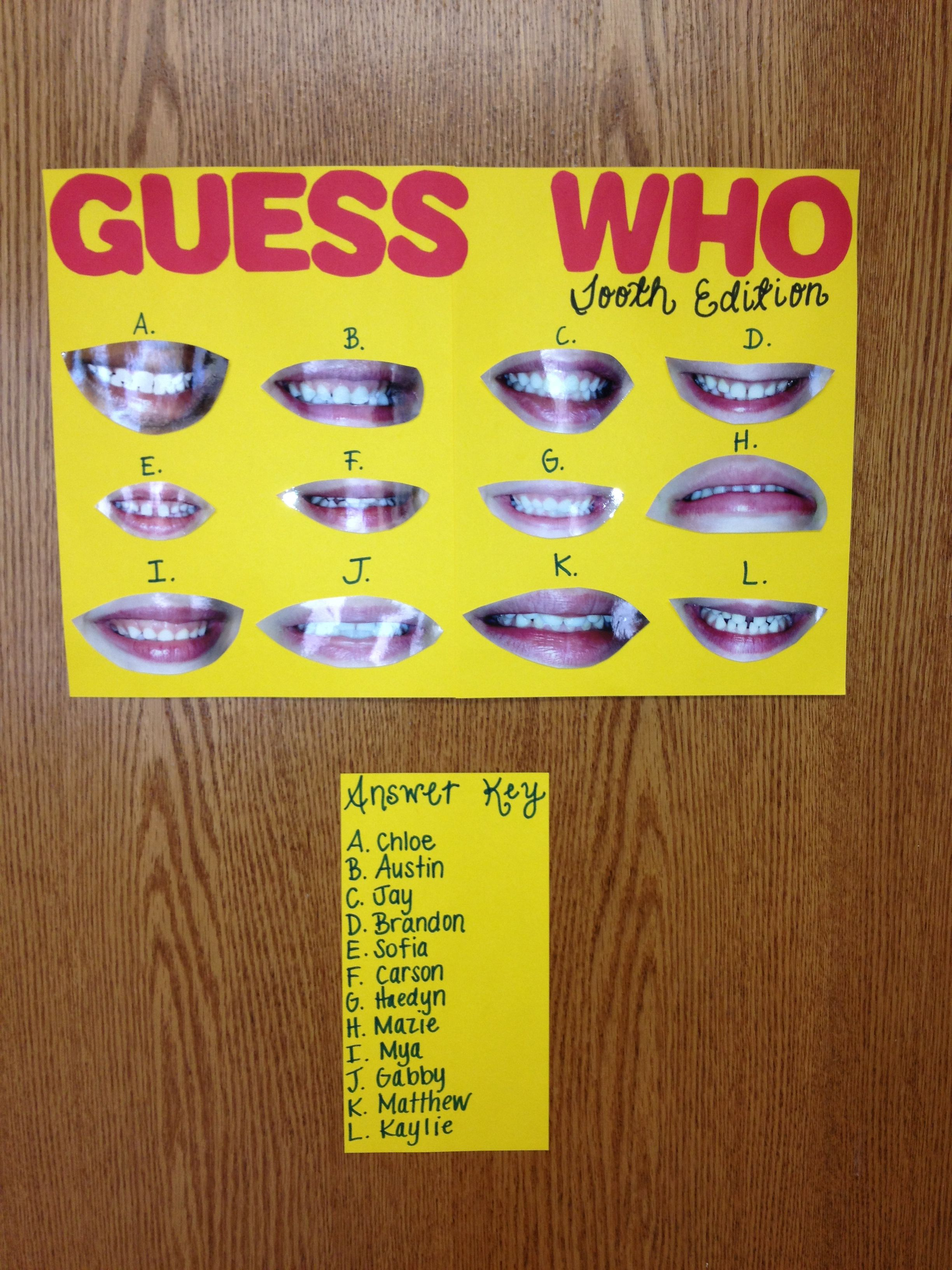 Dental Hygiene Activity For Pre K I Do This Every Year