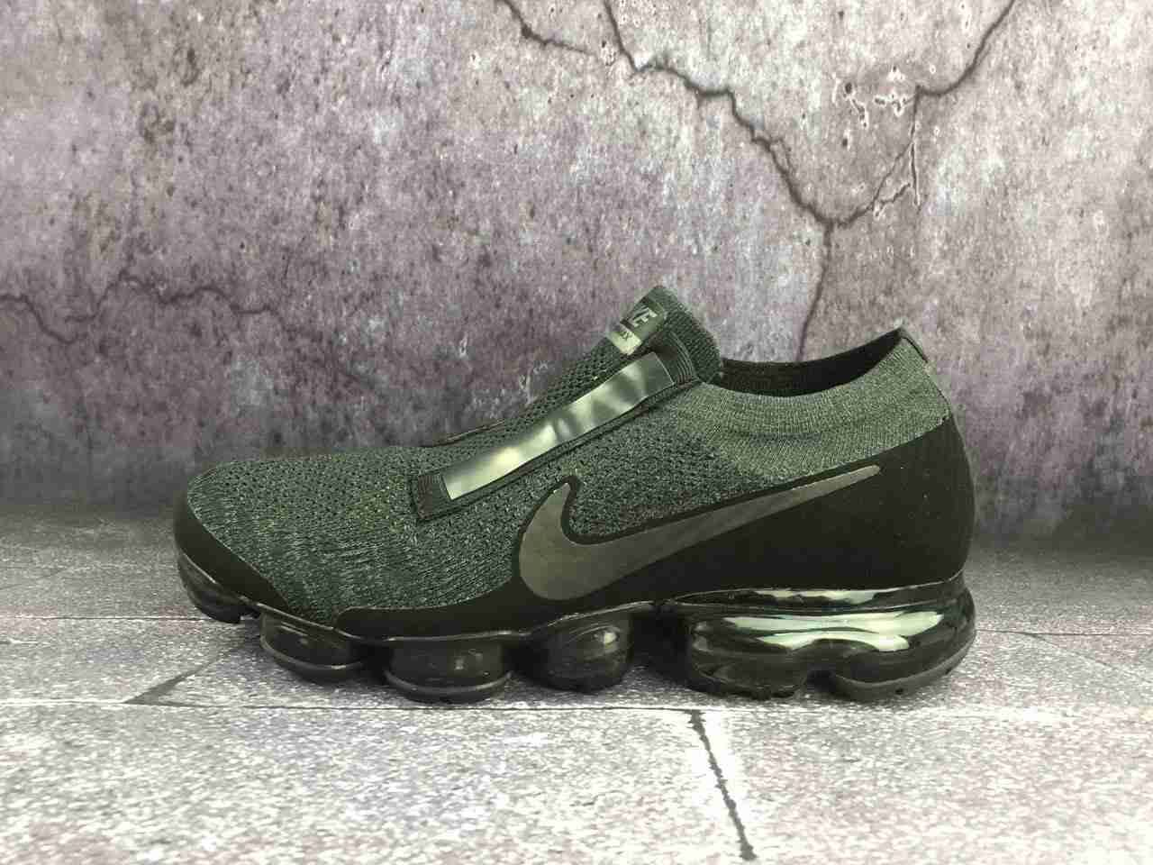 eb5a9d7174 Nike Air VaporMax 2018 Flyknit COG OW Dark Green Men Shoes. Find this Pin  and more on Nike Air Max ...