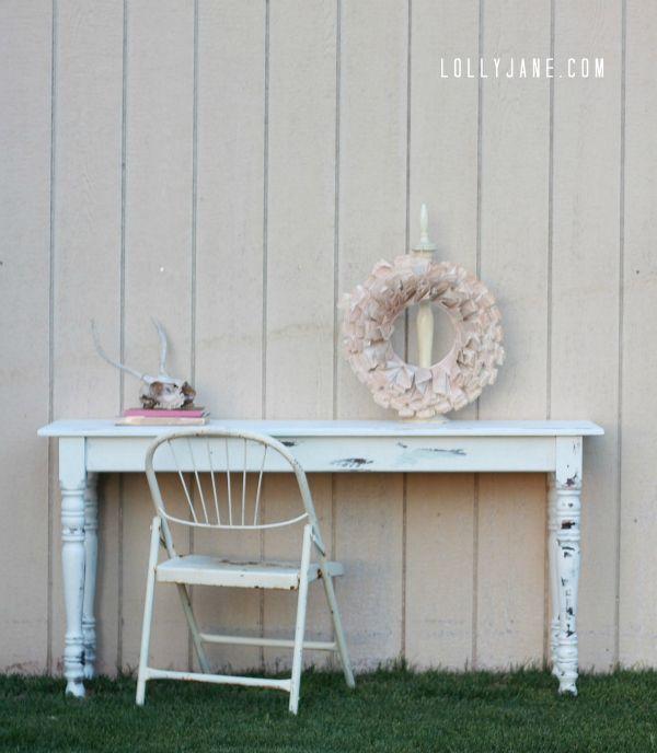 Furniture makeover... in just 3 easy steps! DIY Furniture makeover tutorial.
