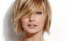 Variegated Color Hair Styles Thin Blonde Hair Short Hair Color