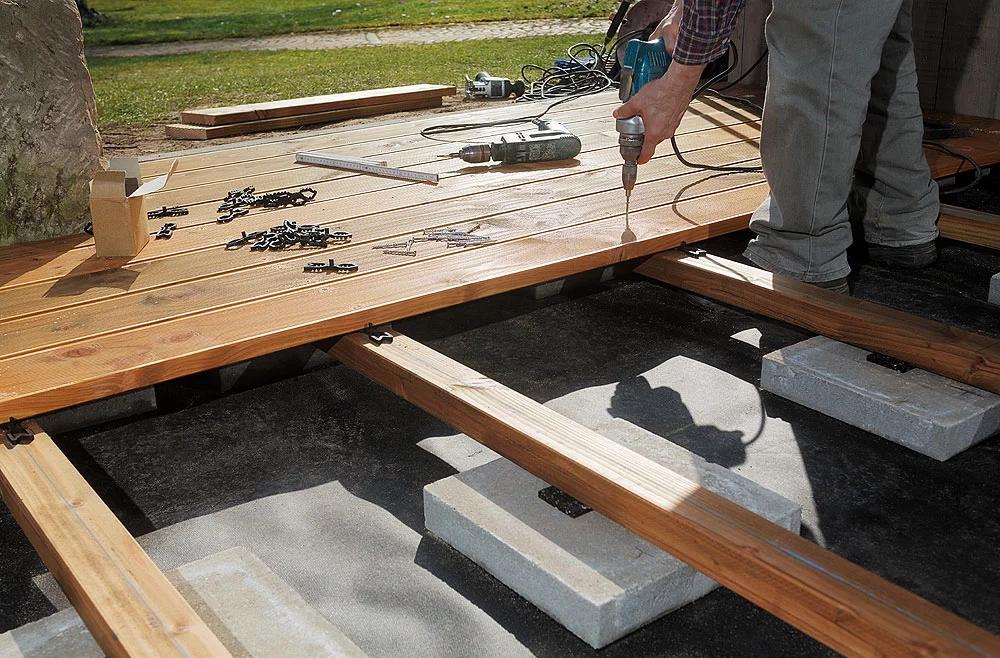 15+ Holzterrasse im garten selber bauen Sammlung