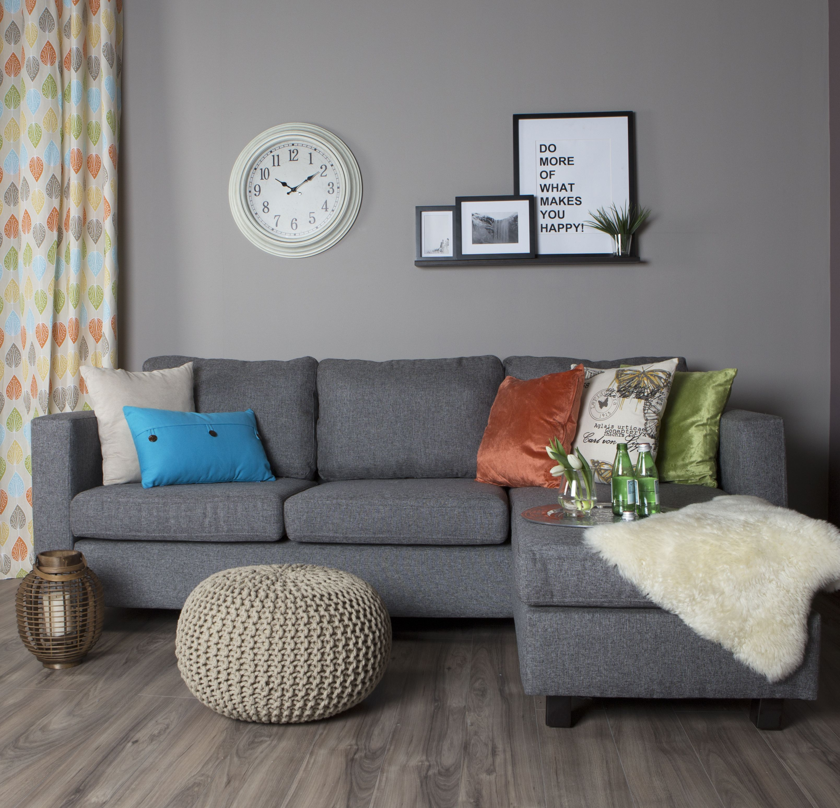Freshen Up Your Living Room With Some Spring Coloured Cushions And Drapery