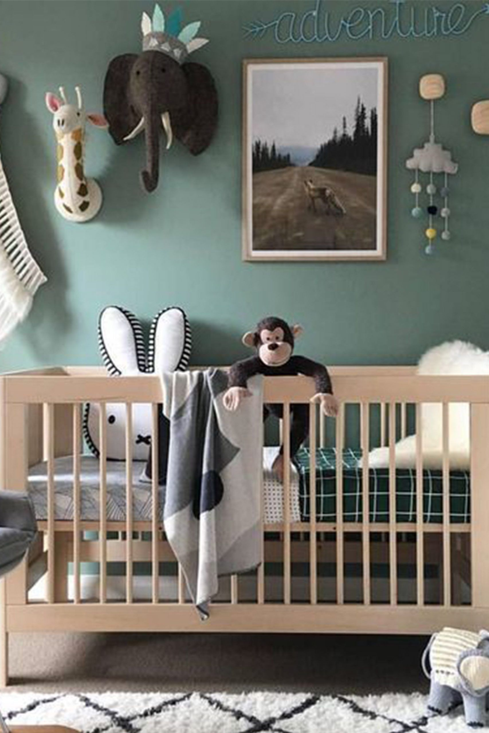 Jungle style baby room#baby #jungle #room #style in 28  Jungle