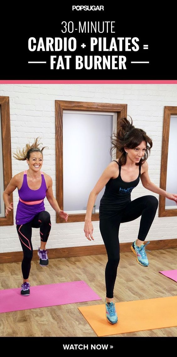 30 Minute Cardio Pilates Burner: