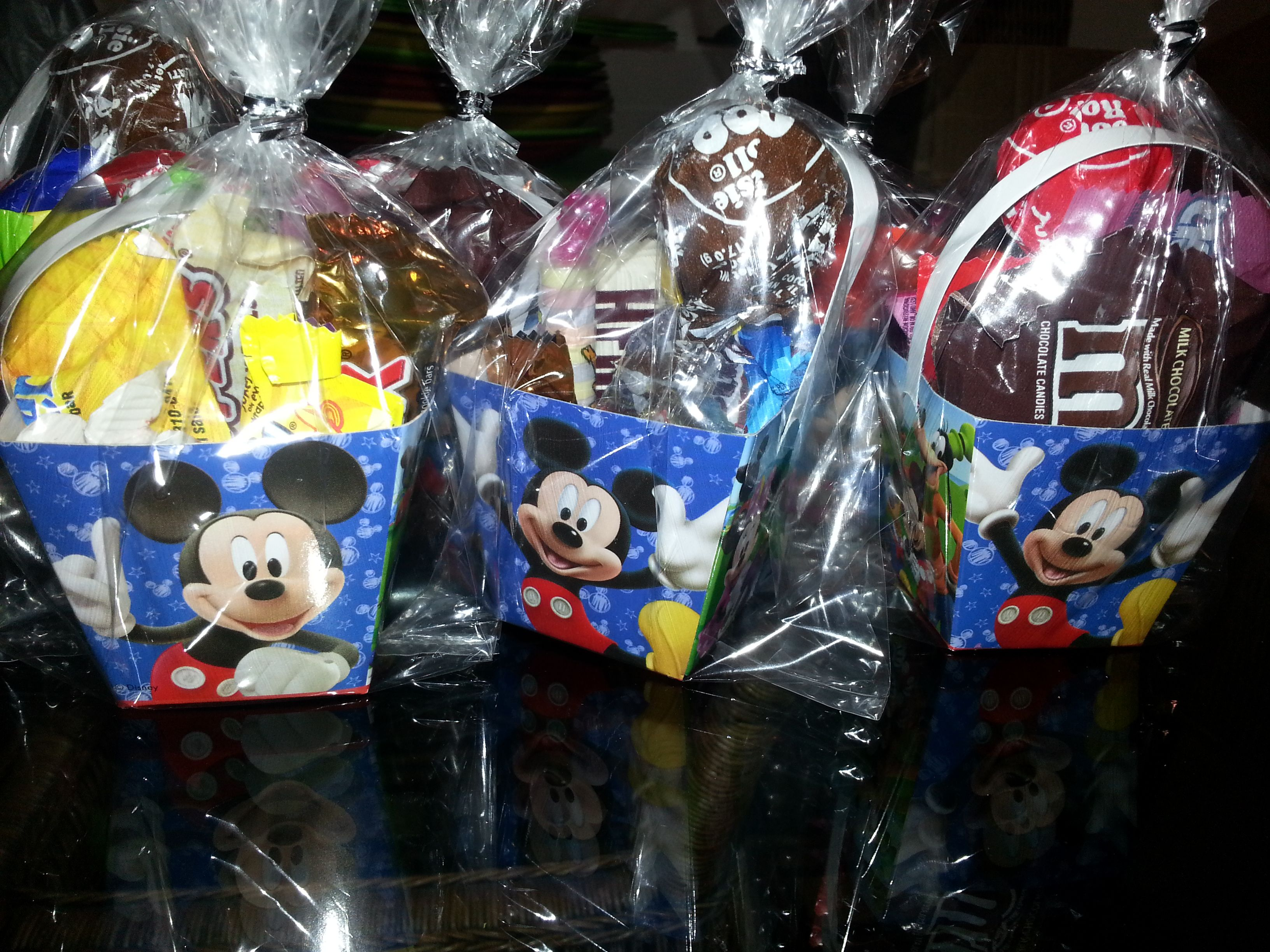 Party Favors Candy inside Mickey Mouse Clubhouse Chinese box (Bought at the Dollar Tree) & 49 best Mickey Mouse Clubhouse Birthday Theme images on Pinterest ...