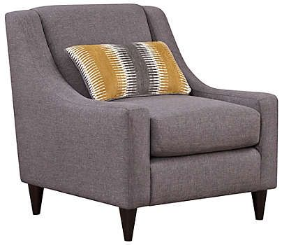 Best Maxwell Accent Chair Art Van Furniture With Images 640 x 480