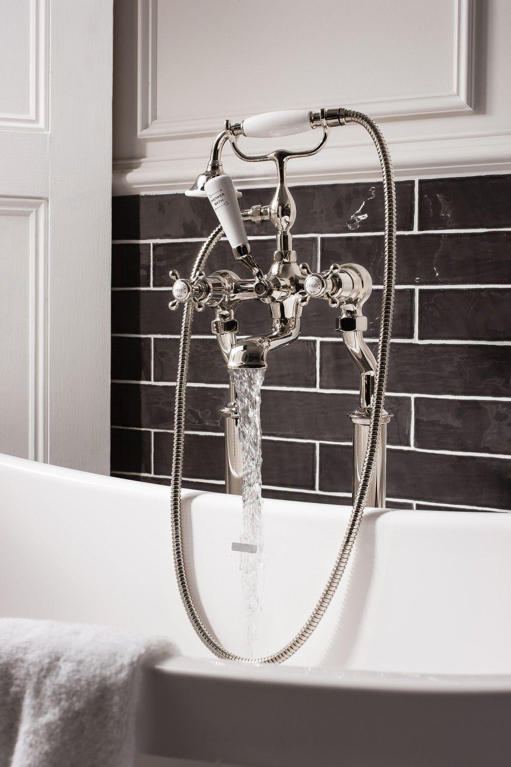 Crosswater Luxury Bathrooms Belgravia Nickel Luxury