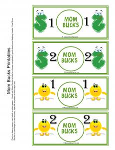 graphic regarding Printable Reward Bucks called Advantage Pounds, Printable Enjoyable Economical Long run Chores for young children