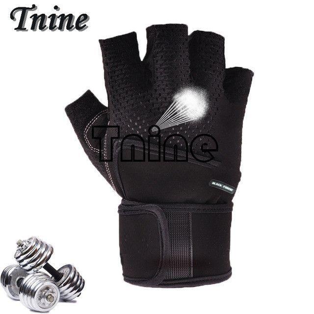 Tnine Outdoor Women/Men Gym Gloves Body Building Sport Fitness Gloves Exercise Training Weight Lifting Gloves Men Gloves Women