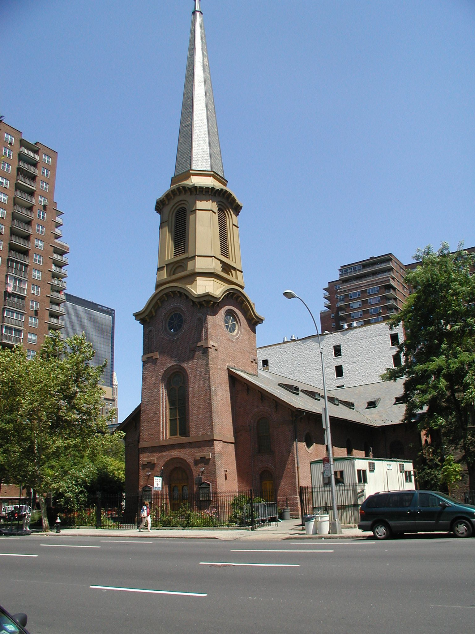 Come visit us in our landmark church on the corner of 9th