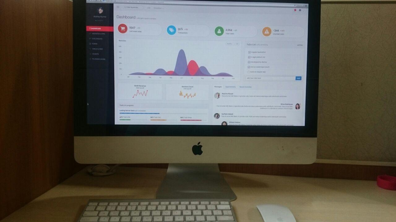 Pin by Akshay Kumar on Brio Web App - Bootstrap Admin