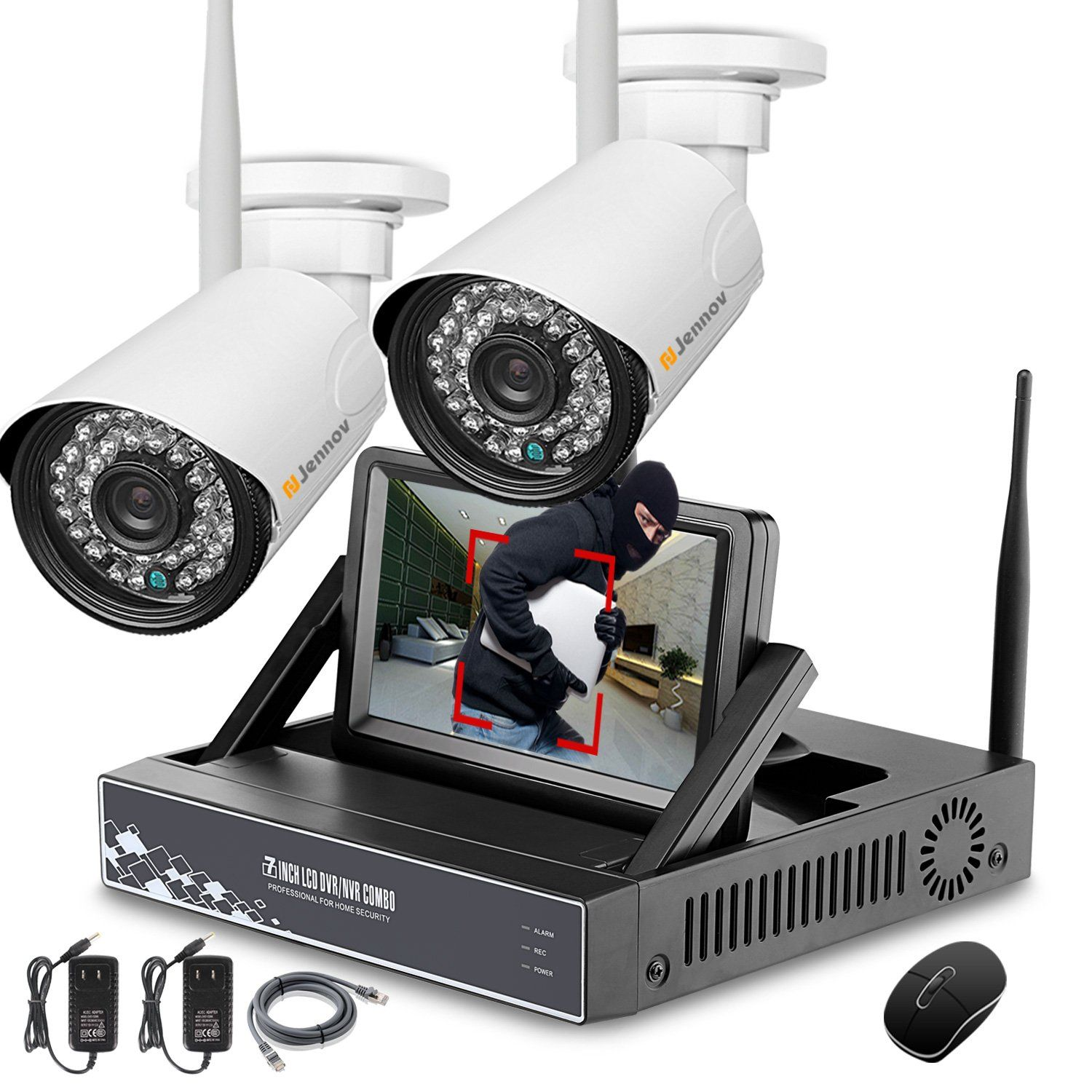 Jennov P Home Wireless Security Camera System With CH