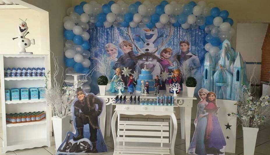 Festa Frozen Isabela 8 anos