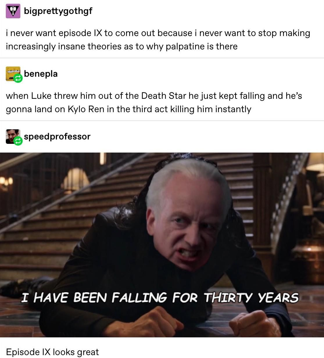 Palpatoads In Episode 9 Star Wars Quotes Star Wars Memes Star Wars Humor