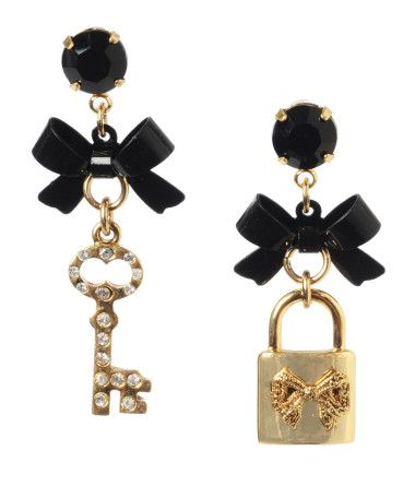 e8ccd3fdc0ef5 i love betsey johnson earrings. too bad i can't wear them. can you ...