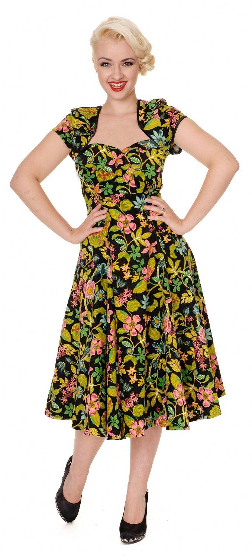 Collectif does tropical luau party pinterest vintage wardrobe