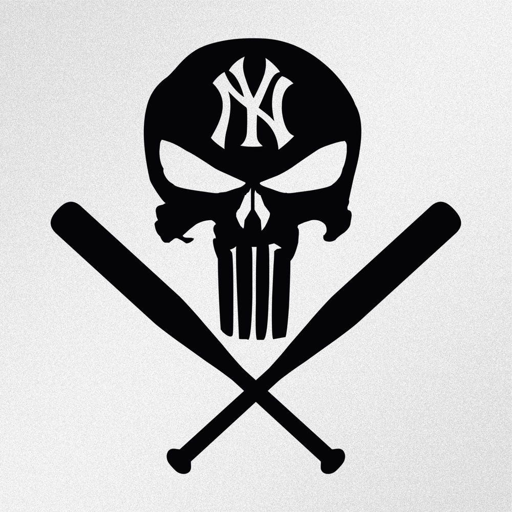 Punisher Newyorkyankees Baseball Punisher New York Yankees New York Yankees Baseball