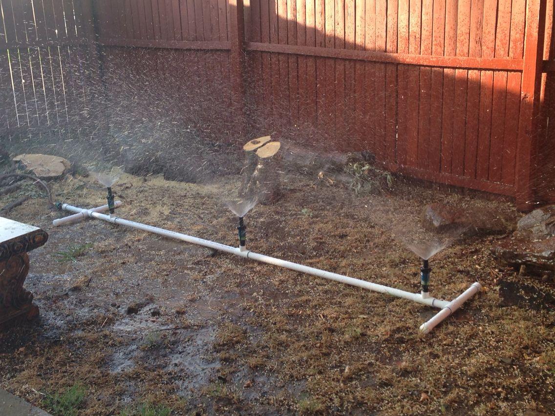Cheap pvc water sprinkler garden sprinklers garden