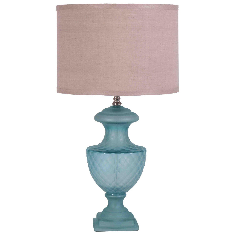 jamie young lighting table lamp base mini lee urn sky blue  - jamie young lighting table lamp base mini lee urn sky blue laylagraycenew