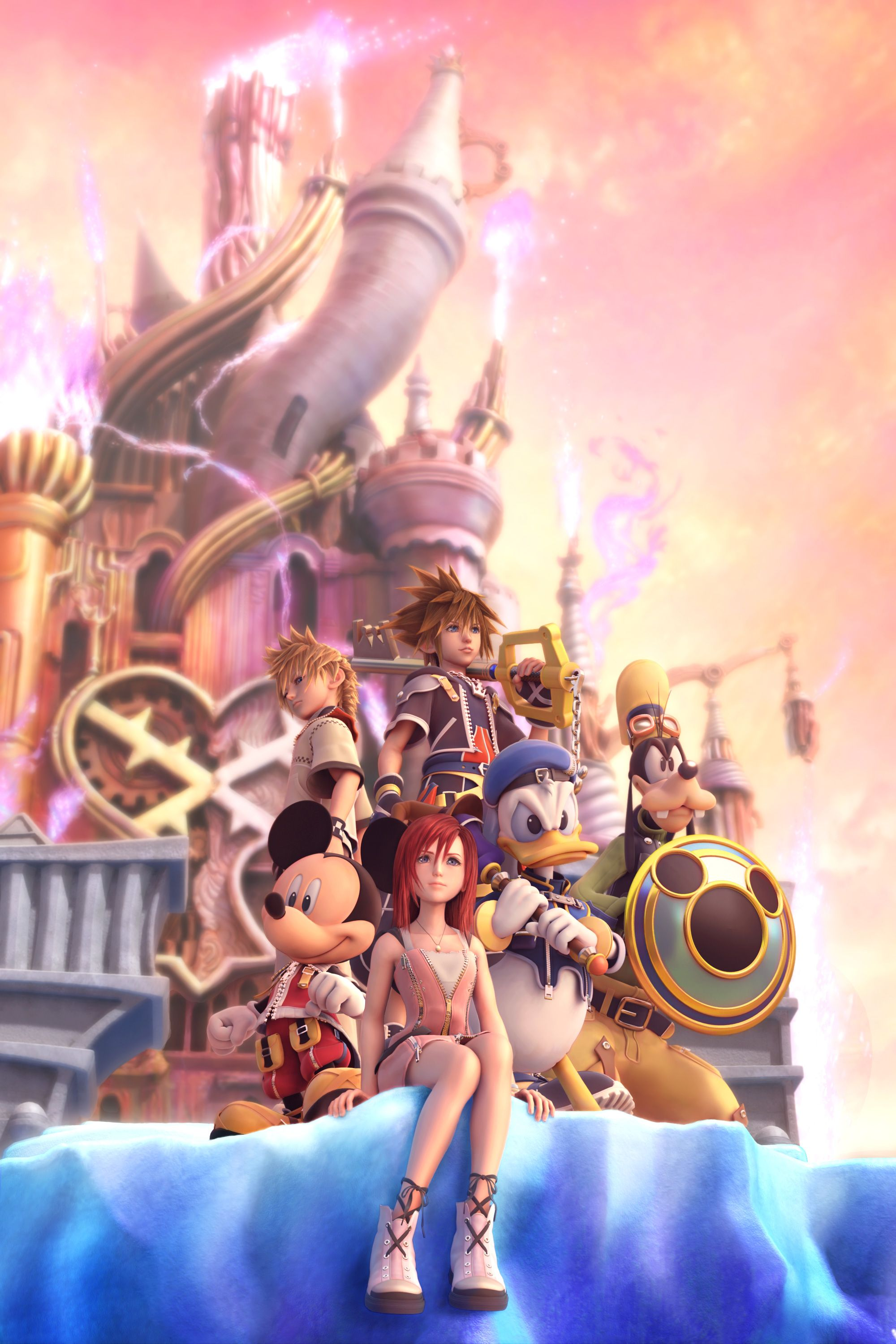 Kingdom Hearts Square Enix Disney Interactive Studios Kingdom Hearts Ii Promotional Art Kingdom Hearts Ii Kingdom Hearts Kingdom Hearts 3