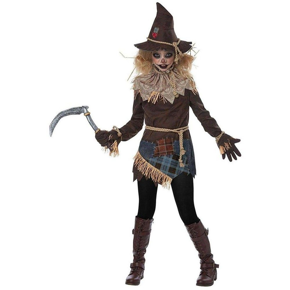 California Costumes Creepy Scarecrow Child Costume X Large