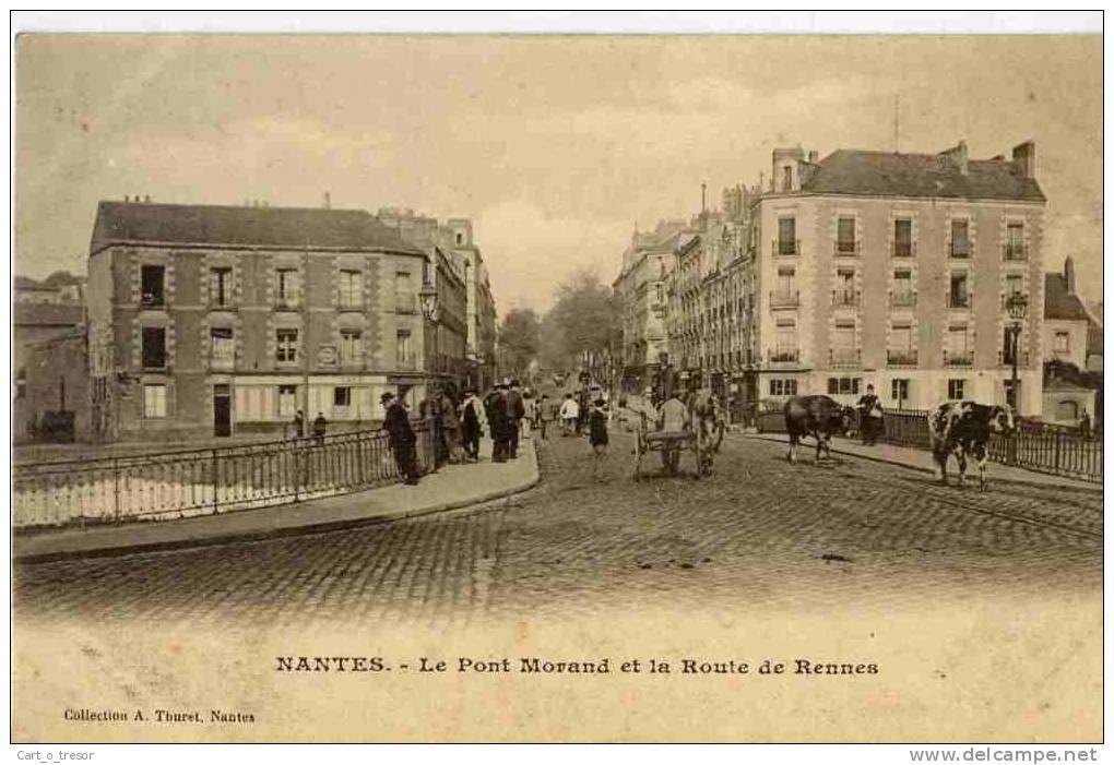 Cartes Postales Nantes Pont Morand Delcampe Net Nantes