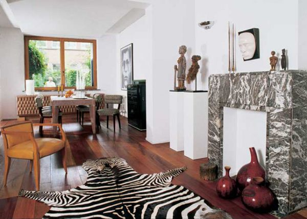 African Themed Living Room Decorating Ideas