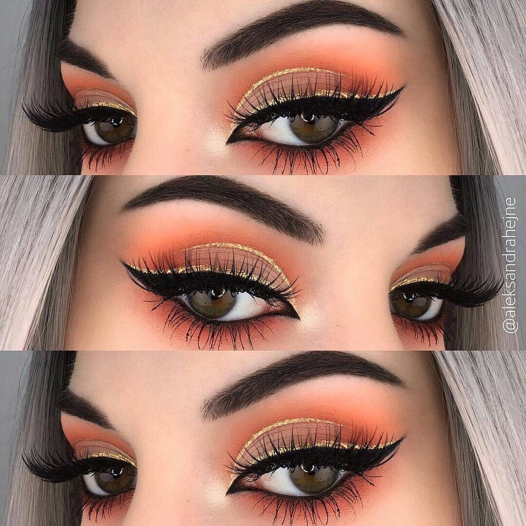 15 make up eyeshadow ideas for brown eyes Maquillaje de