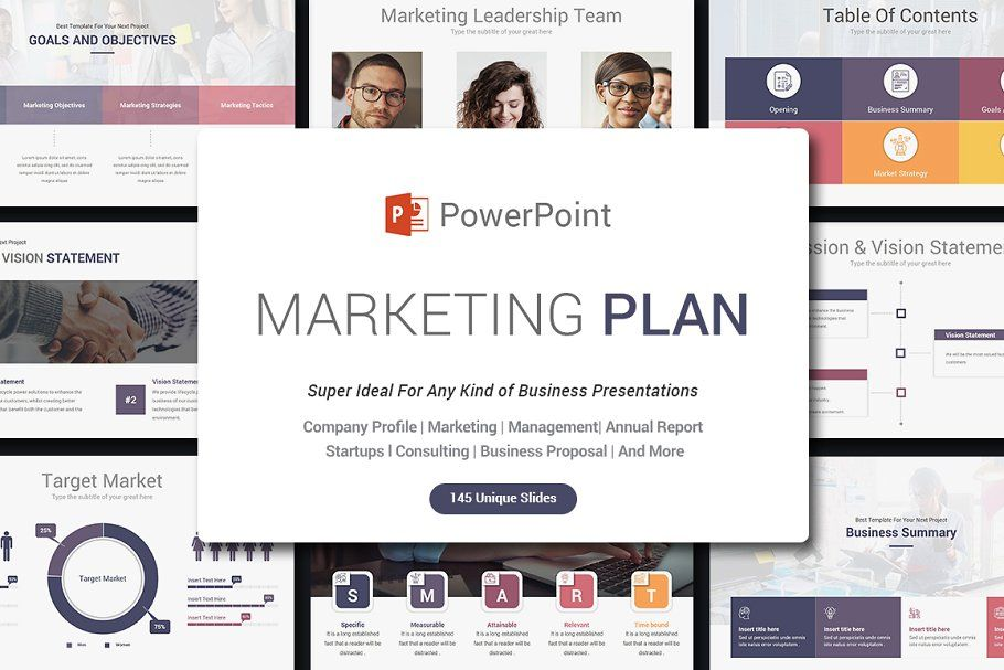 Comprehensive PowerPoint Bundle Marketing plan